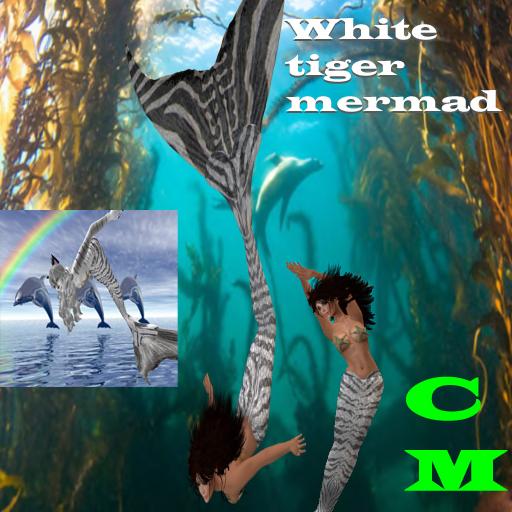 WhiteTiger Mermaid