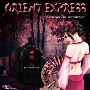 Orient Express Hunt Poster