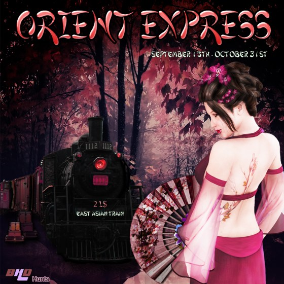 Orient Express Hunt Poster