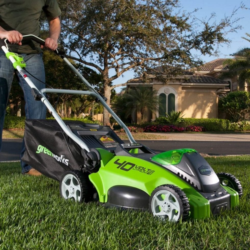 Electric Lawn Mower Sale Best Electric Mower For Professional Lawn Stripes