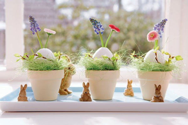 Easter Table Decorations For Spring