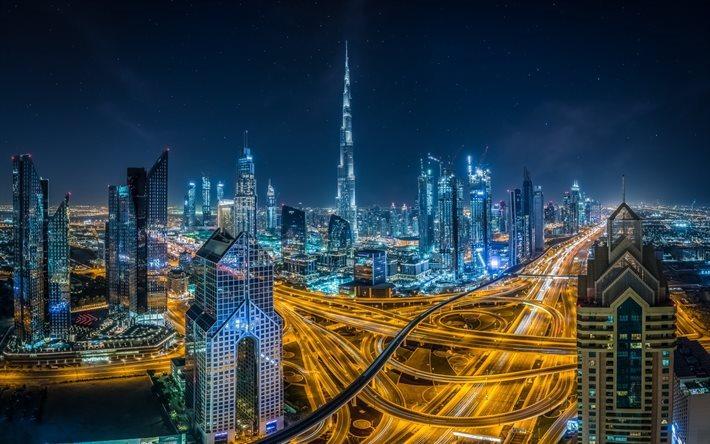 Emirates Wallpaper Hd Download Wallpapers Dubai United Arab Emirates Night