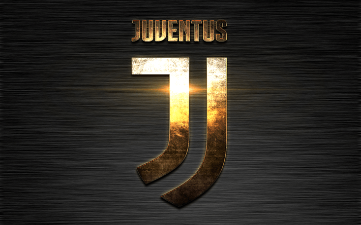 Best Football Quotes Wallpapers Download Wallpapers Juventus Fc Gold Metal Logo New