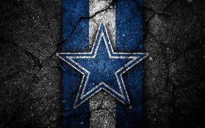 Nfl 3d Wallpaper Download Wallpapers 4k Dallas Cowboys Logo Black Stone