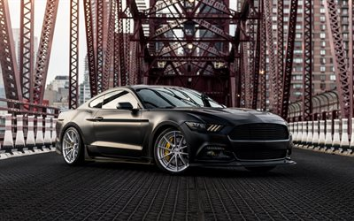 How To Install 3d Wallpaper Download Wallpapers Ford Mustang 2018 Black Sports Coupe