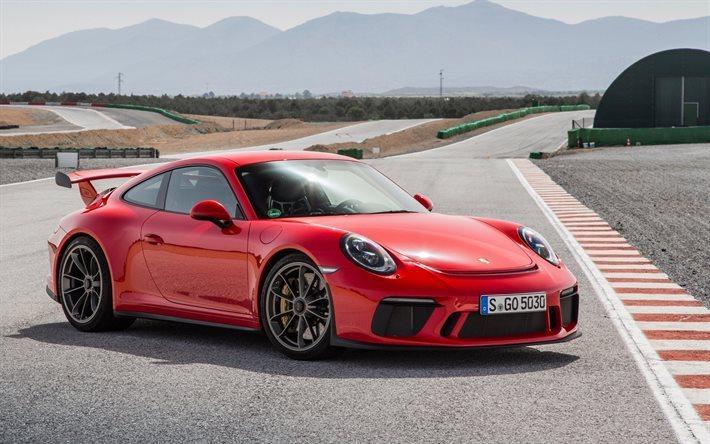 Porsche Boxster Wallpaper Hd Download Wallpapers Porsche 911 Gt3 2017 Sports Car Red