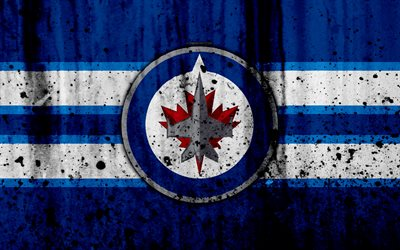 Best 3d 4k Wallpaper Download Wallpapers 4k Winnipeg Jets Grunge Nhl Hockey