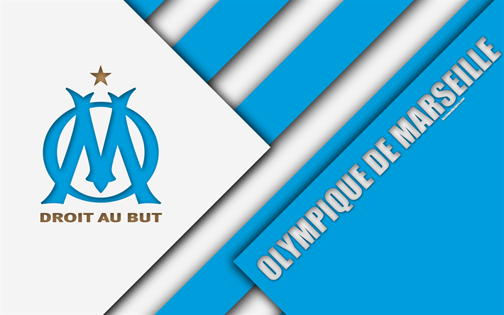 Om 3d Wallpaper Download Download Wallpapers Olympique De Marseille 4k Material