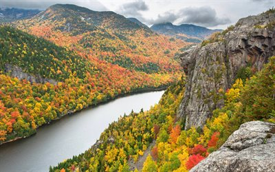 Real 3d Wallpapers Free Download Download Wallpapers Adirondack Mountains 4k Autumn