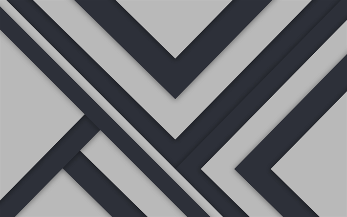Black And White Geometric Wallpaper Descargar Fondos De Pantalla Fondo Gris L 237 Neas Tiras