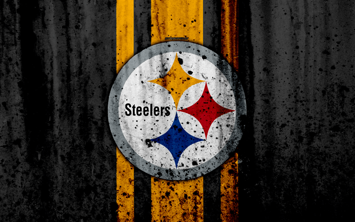 Steelers Wallpaper Hd Download Wallpapers 4k Pittsburgh Steelers Grunge Nfl