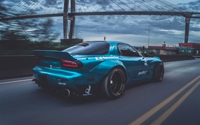 Hd Jdm Car Wallpapers Herunterladen Hintergrundbild Rocket Bunny Tuning Mazda