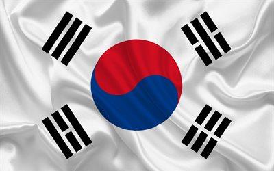 Wallpaper Korea 3d Download Wallpapers South Korean Flag Asia South Korea