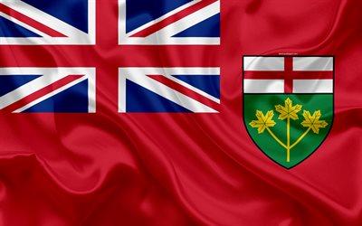 Best 3d 4k Wallpaper Download Wallpapers Flag Of Ontario Canada 4k Province
