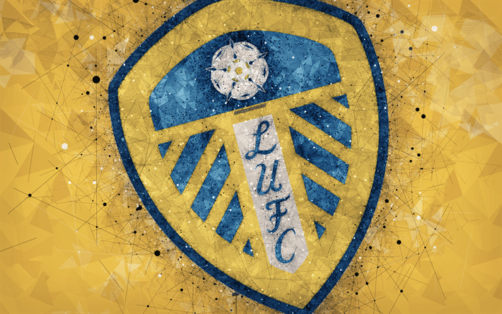 Yellow Wallpapers With Quotes Download Wallpapers Leeds United Fc 4k Geometric Art