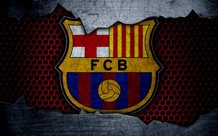Lakers 3d Logo Wallpaper Download Wallpapers Fc Barcelona 4k La Liga Football