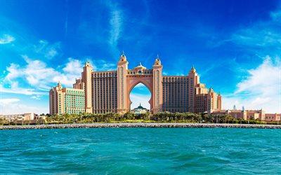 3d Interior Wallpaper Hd Descargar Fondos De Pantalla Atlantis Hotel 4k Dubai