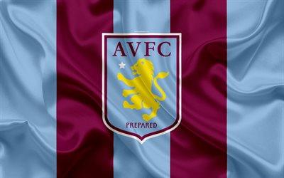 Football Quotes Wallpapers Hd Download Wallpapers Aston Villa Fc Silk Flag Emblem