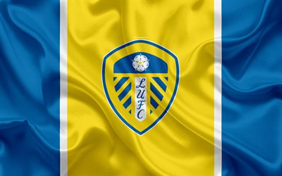 Best Football Quotes Wallpapers Download Wallpapers Leeds United Fc Silk Flag Emblem