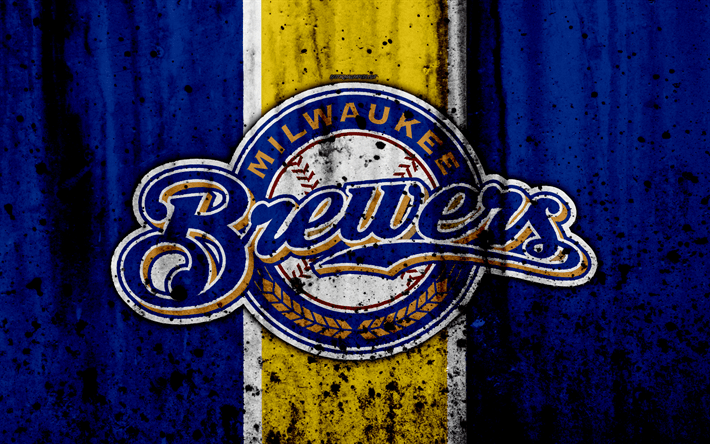 Club America Wallpapers 3d Download Wallpapers 4k Milwaukee Brewers Grunge