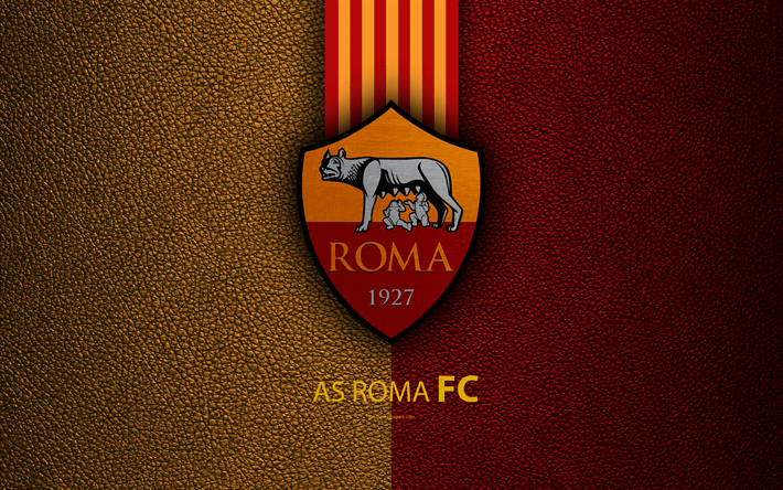 Manchester United Logo Wallpaper 3d Descargar Fondos De Pantalla Roma Fc 4k Italiano Club