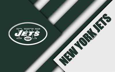 3d Hq Wallpaper Download Download Wallpapers New York Jets Afc East 4k Logo Nfl