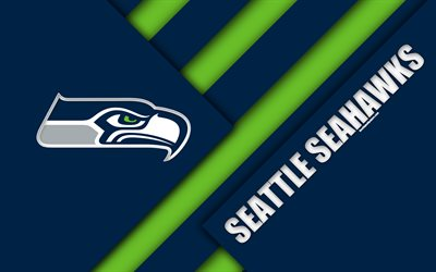 Los Angeles Quotes Wallpapers Download Wallpapers Seattle Seahawks Nfc West 4k Logo