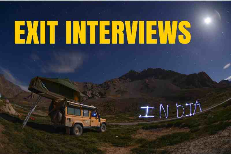 EXIT INTERVIEWS: BEST OF INDIA