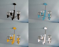 Paint Brass Light Fixture | Light Fixtures Design Ideas