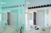 Painting Bathroom Light Fixtures | Light Fixtures Design Ideas