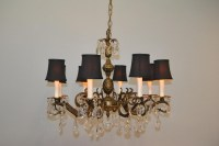 Antique Brass And Crystal Chandeliers | Light Fixtures ...