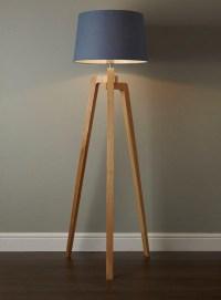 Antique Wooden Floor Lamp | Light Fixtures Design Ideas