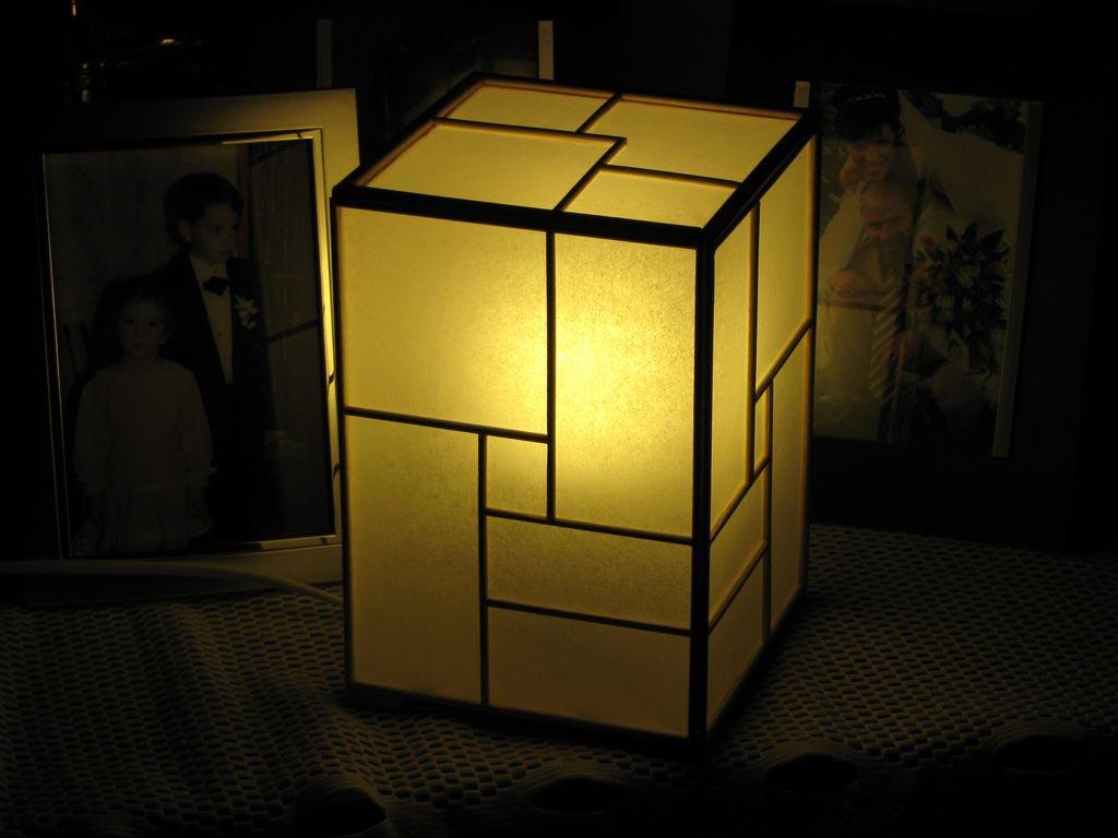 DIY Japanese Floor Lamps