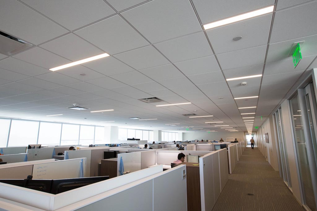 Fluorescent Office Light Fixtures