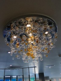 Charming Lightness of a Glass Bubble Chandelier | Light ...