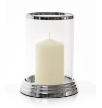 Large Glass Hurricane Candle Holder | Light Fixtures ...