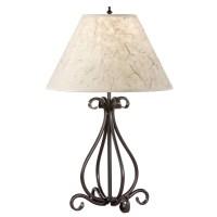 Rustic Wrought Iron Floor Lamps   Light Fixtures Design Ideas