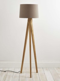 Tripod Floor Lamp Wooden Legs | Light Fixtures Design Ideas