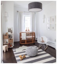 White Wood Floor Lamp Nursery | Light Fixtures Design Ideas