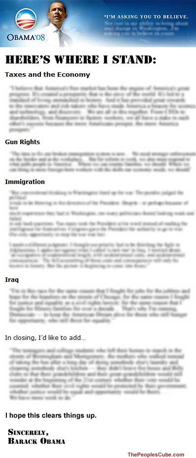 Best Obama Facts - barack obama resume