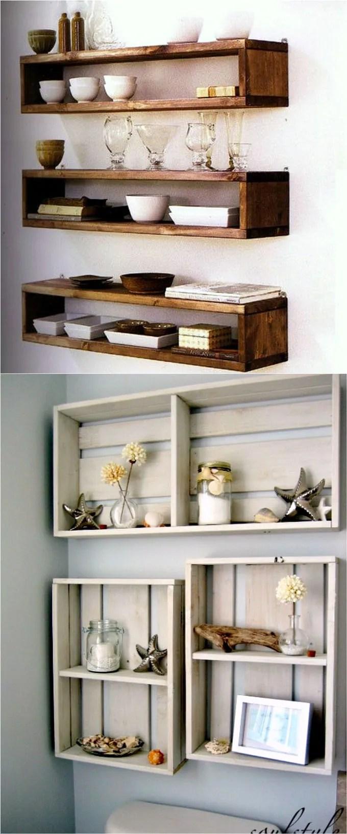 Large Of Hanging Shelves Ideas