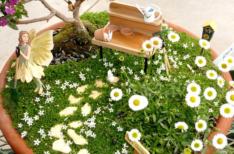 Large Of Diy Mini Garden Ideas