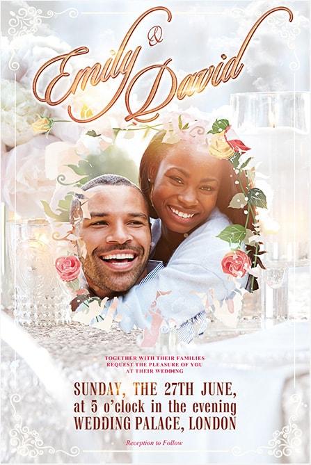 Wedding Celebration Free Flyer Template Best of Flyers