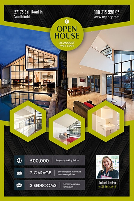 Open House Real Estate Free Flyer Template Best of Flyers - open house flyer
