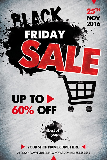 Black Friday Sale Free Flyer Template Best of Flyers
