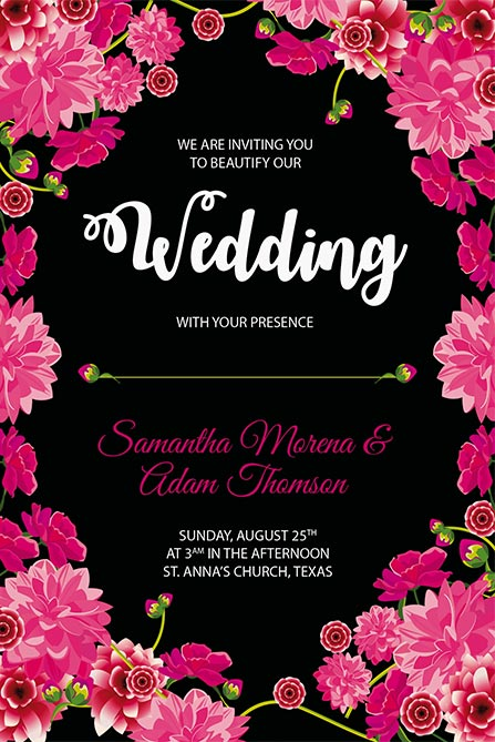 Wedding Free Poster Template Best of Flyers - wedding flyer