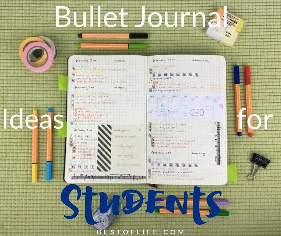 Bullet Journal Ideas for Students Nifty Planner Organization - The - college planner organization