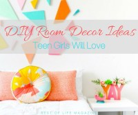 DIY Room Decor Ideas for Teens Girls will Love - Best of ...
