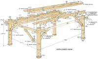 DIY Pergola Plans Free | Pergola Design Ideas