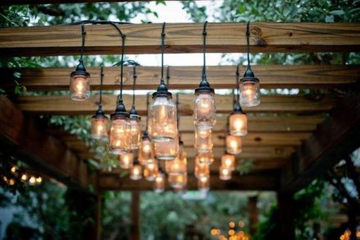 Hanging pergola lighting - Download